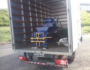 Transporte Prensa Enfardadeira Metalurgica Menonita