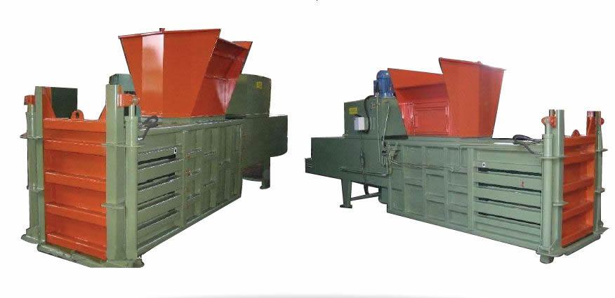 Prensa Enfardadeira Horizontal Para Reciclagem